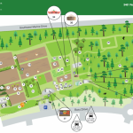 A map of the UBC Farm.