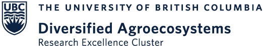 Logo of the Diversified Agroecosystems Research Excellence Cluster