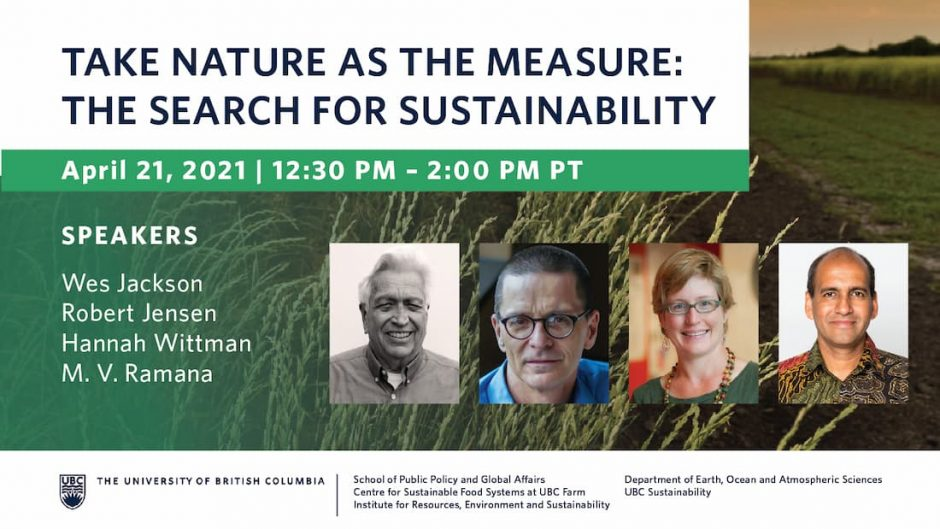 The Search for Sustainability poster