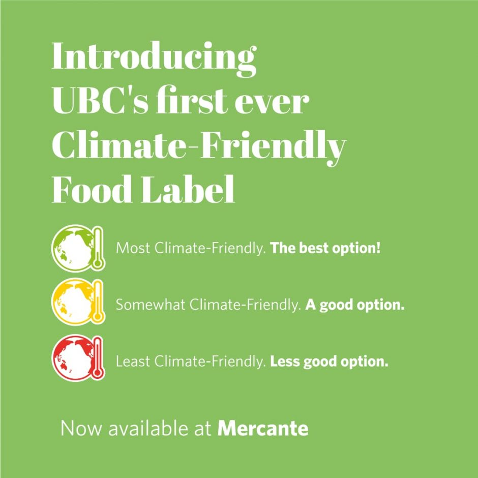 Climate-Friendly Food System Label